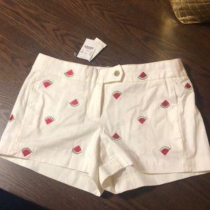 J.Crew watermelon shorts